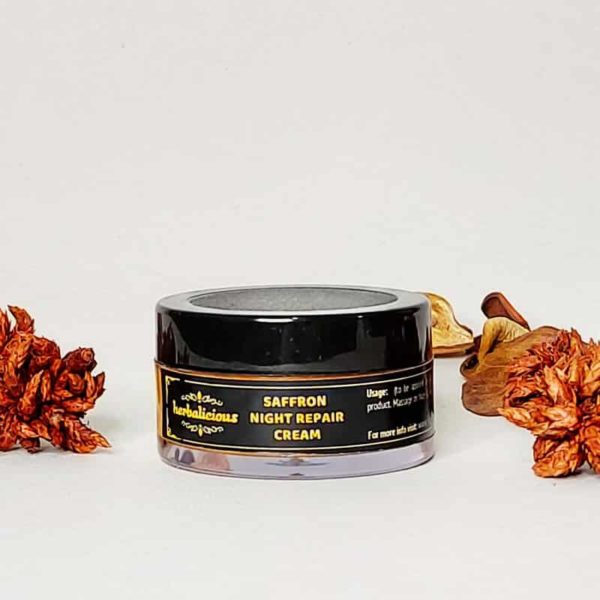Saffron Night Repair Cream