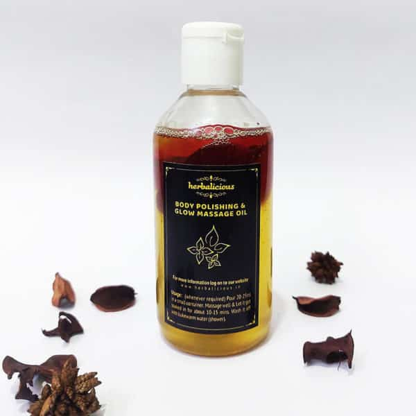 Body Polishing Oil - 250 ml